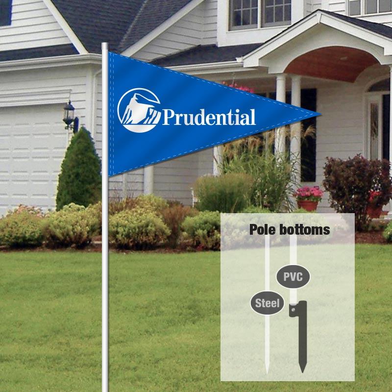 Independent Real Estate Pennant Flag-PRU00001_FLG_7