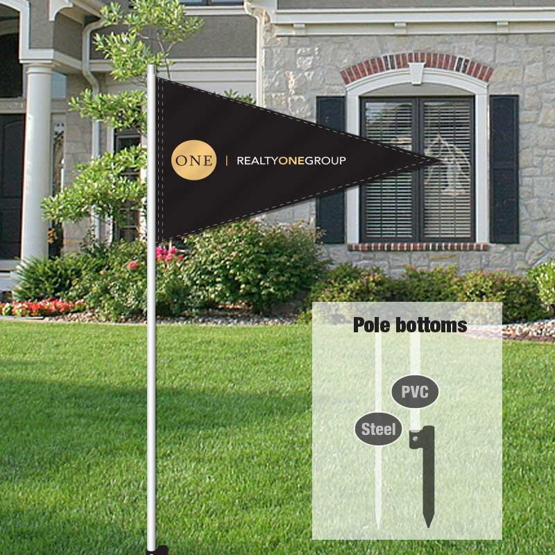 Independent Real Estate Pennant Flag-RLYGRP01_FLG_7