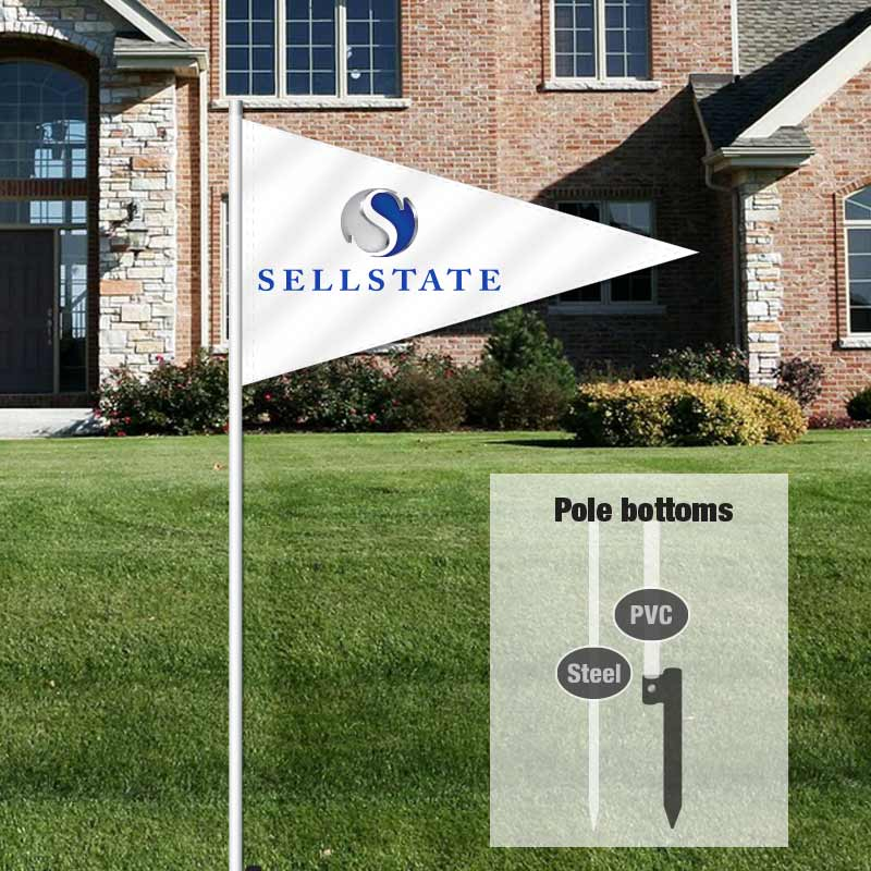 Independent Real Estate Pennant Flag-SELLST01_FLG_7