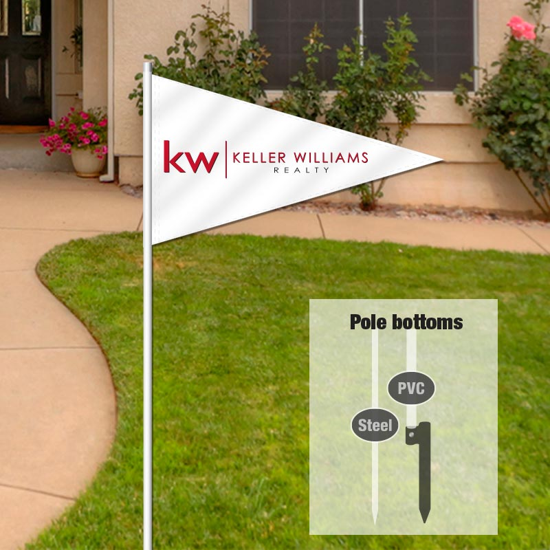 Keller Williams Realty Stock Flags-KLW00003_76