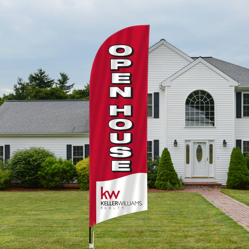 Keller Williams Realty Feather Flags-KW1FF_93