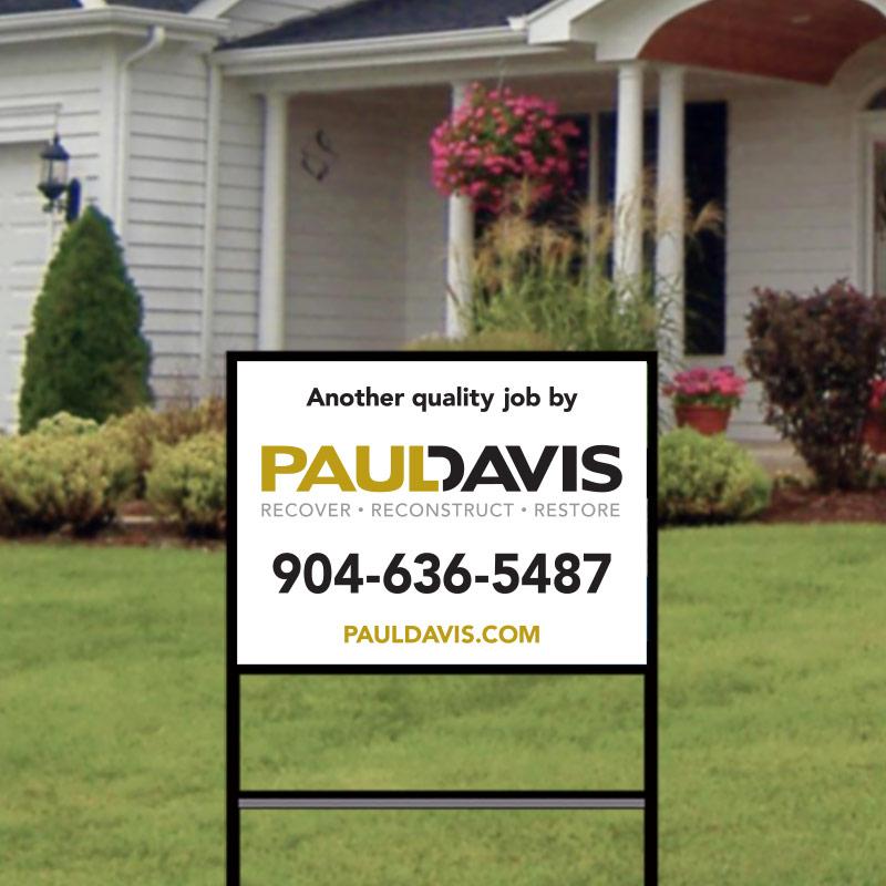 Paul Davis Restoration Complete Signs-207PDREST