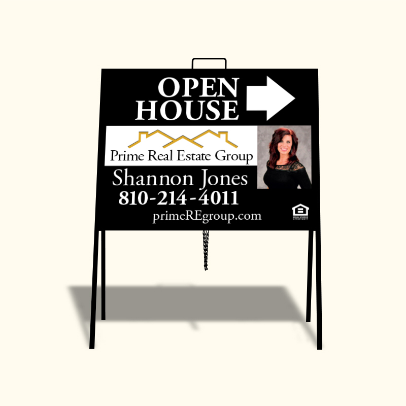 Open House Signs for Prime Real Estate Group | Dee Sign