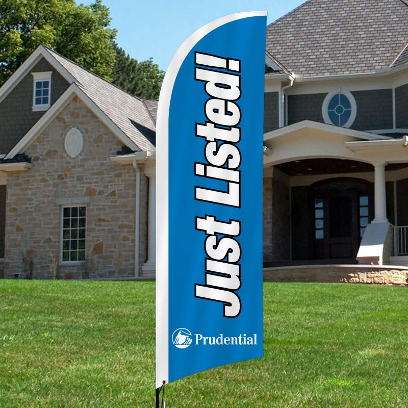 Prudential Real Estate Feather Flags-PR4FF_6