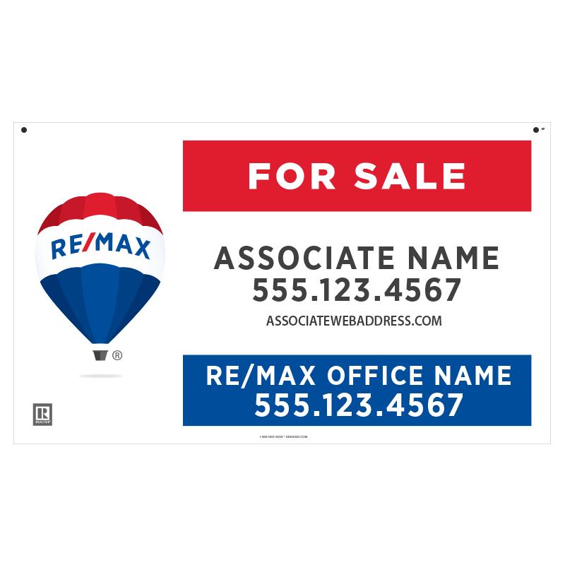 REMAX Hanging Sign Panels-18X30_STD_HP_187