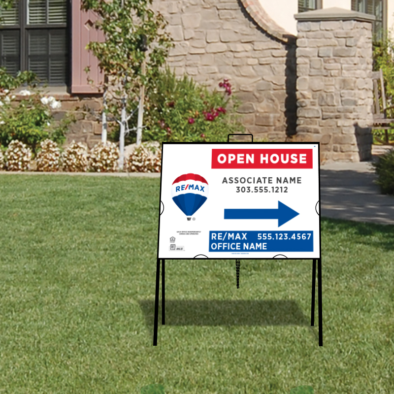REMAX Open House & Directional Signs-A-218_18X24_187