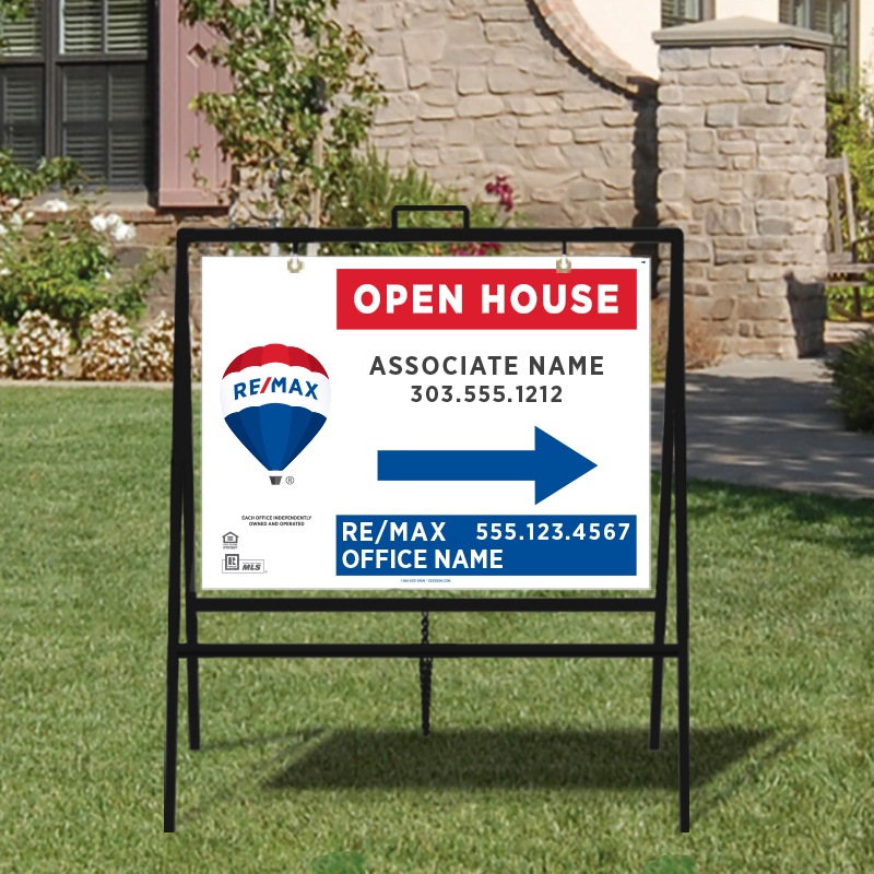 REMAX Open House & Directional Signs-A-229_18X24_187