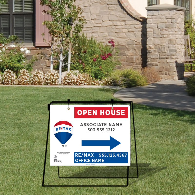 REMAX Open House & Directional Signs-MA30_18X24_187