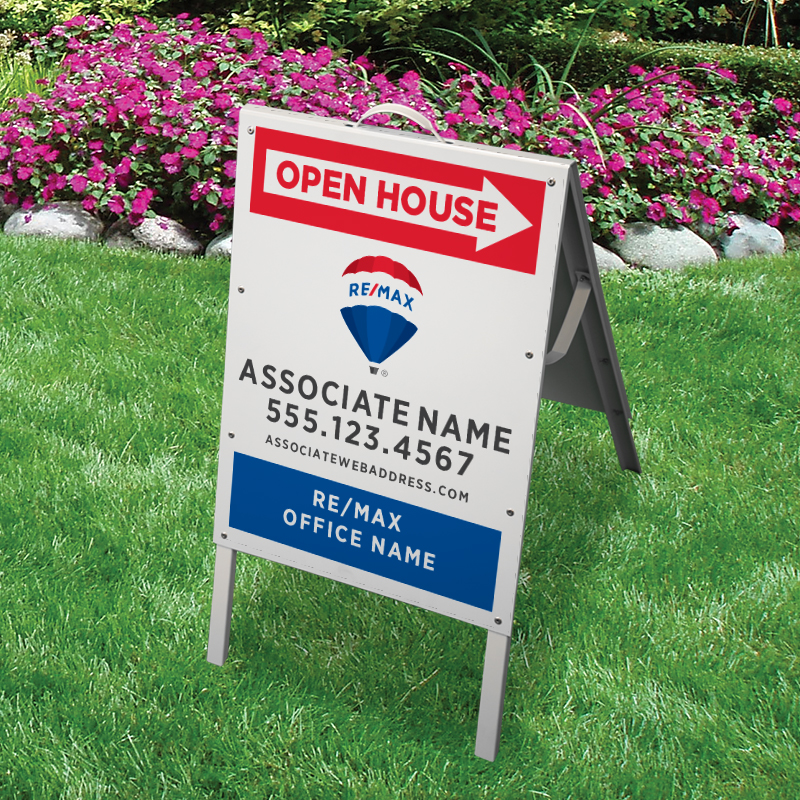REMAX Open House & Directional Signs-V-224_24X18_187