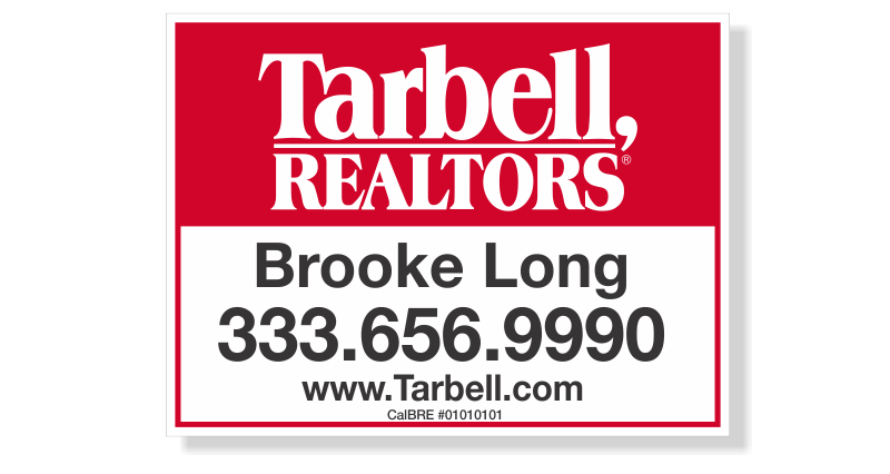 Tarbell, Realtors Sign Panels Only - Agent-18X24_STD_AGT_157