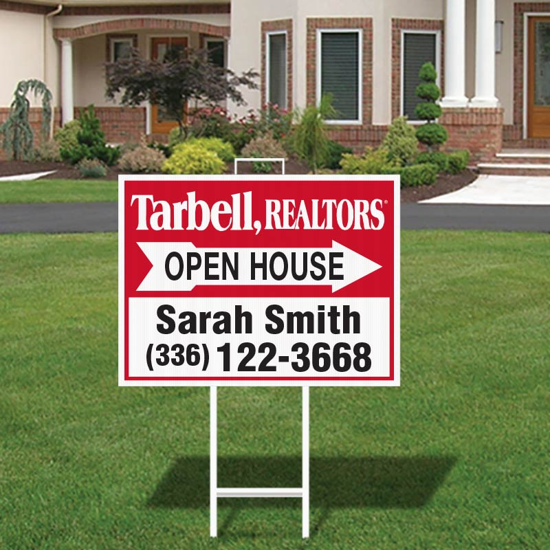 Tarbell, Realtors Open House Signs-292_18X24_157