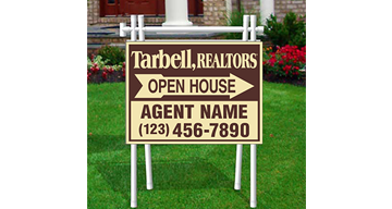 Tarbell, Realtors Open House Signs-APV1_18X24_D_157