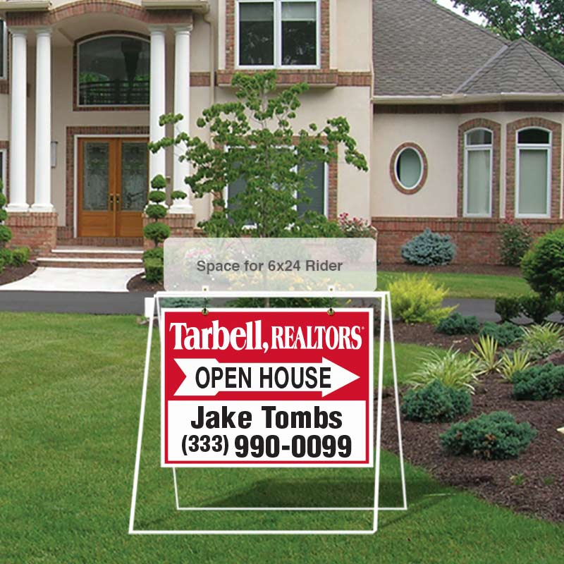 Tarbell, Realtors Open House Signs-MA30_18X24_AGT_157