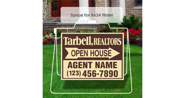 Tarbell, Realtors Open House Signs-MSFS_18X24_D_AGT_157