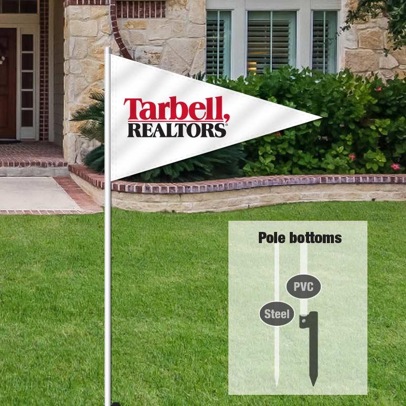 Tarbell, Realtors Pennant Flags-TARBELL1_FLG_157