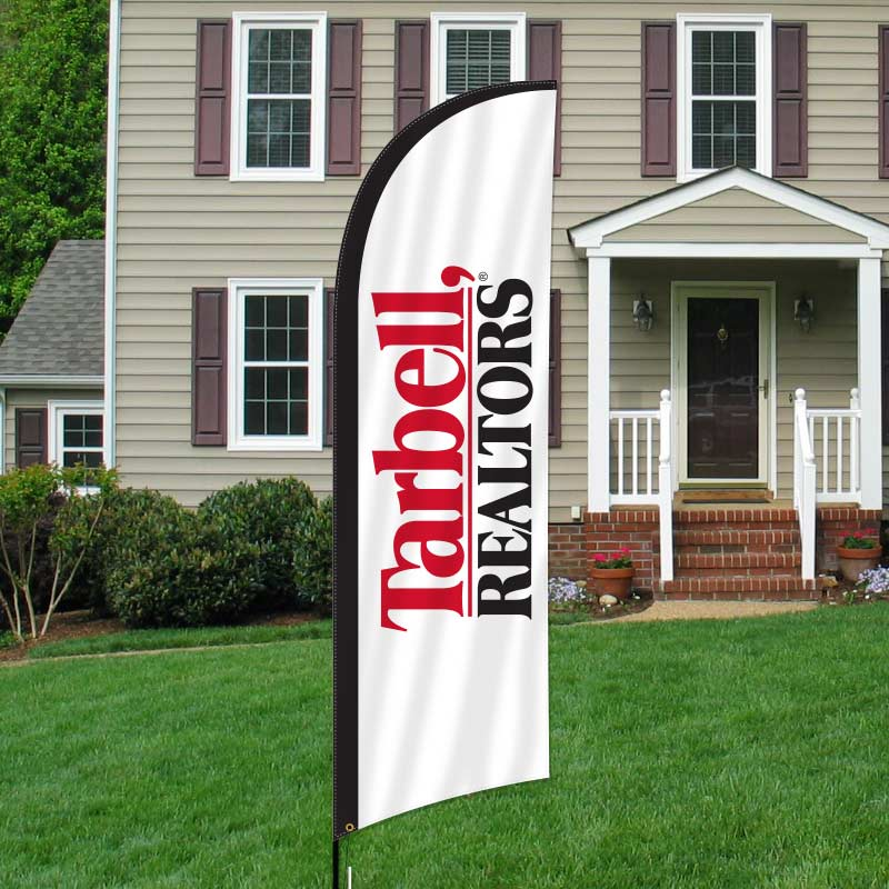 Tarbell, Realtors Feather Flags-TB2FF_157