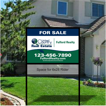 united country real estate bolt in yard signs 004_off_46 - Yard Sign Frames