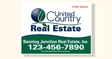 United Country Real Estate Sign Panels for Frames-18X24_R_OFF_46