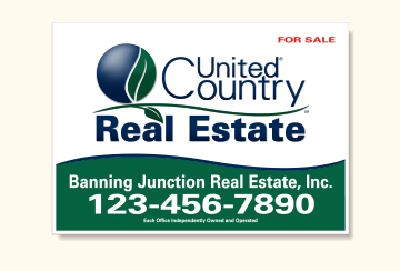 United Country Real Estate Sign Panels for Frames-20X28_R_OFF_46