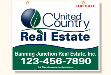 United Country Real Estate Listing Signs-24X30_H_OFF_46