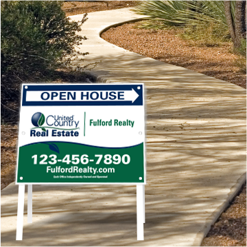United Country Real Estate Open House Signs-A224_STD_46