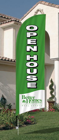 Better Homes & Gardens Feather Flags for sale /feather flag signs