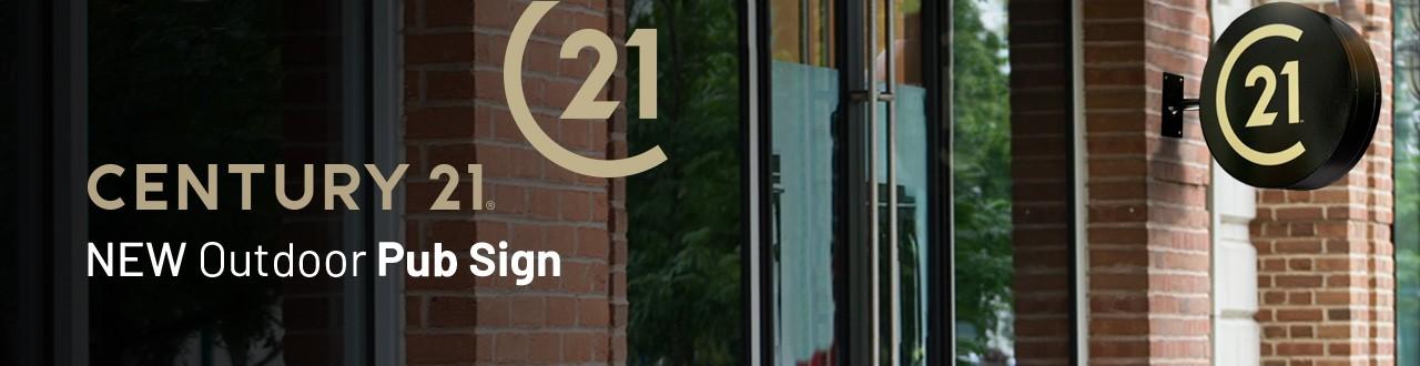 C21 Pub Signs