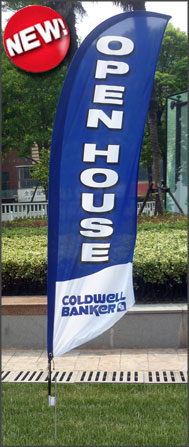 Coldwell Banker<br/>Open House Feather Flags for sale /feather flag signs