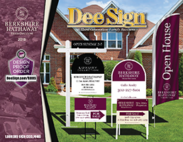DeeSign Berkshire Hathaway Home Services Sign Catalog 2018