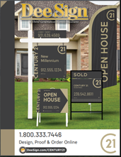 DeeSign Century 21 Real Estate Sign Catalog 2016