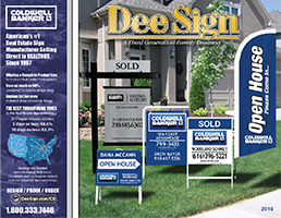 Coldwell Banker Sign Catalog 2018