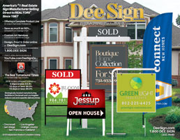 DeeSign Independent Real Estate Sign Catalog 2016