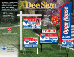 ReMax Sign Catalog 2016