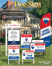 RE/MAX Sign Catalog 2018