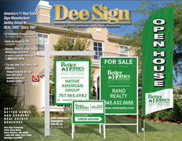DeeSign Better Homes & Gardens Real Estate Sign Catalog 2019