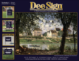 DeeSign Sotheby's International Realty Sign Catalog 2016