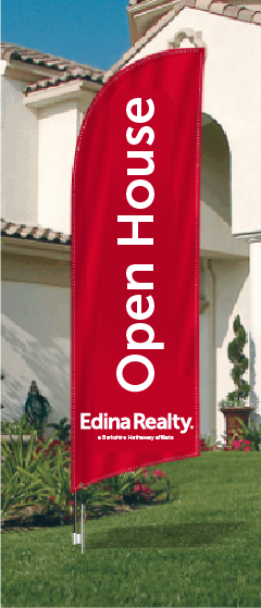 Edina Feather Flags for sale /feather flag signs