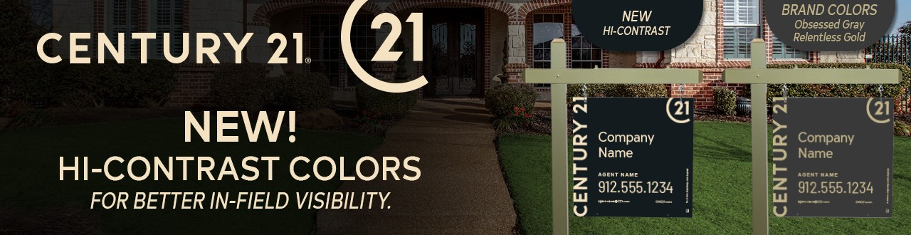 Century 21 Real Estate Signs