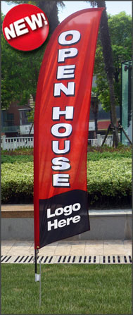 Keller Williams<br/>Open House Feather Flags for sale /feather flag signs