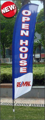 REMAX <br/>Open House Feather Flags for sale /feather flag signs