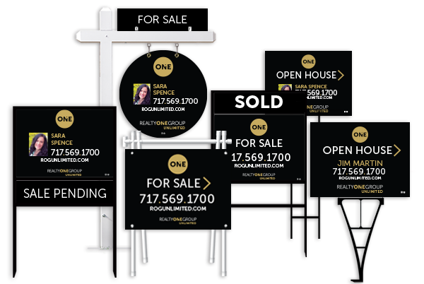 RealtyOneGroup Real Estate Sign products