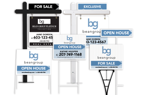 Bean Group Real Estate Sign products