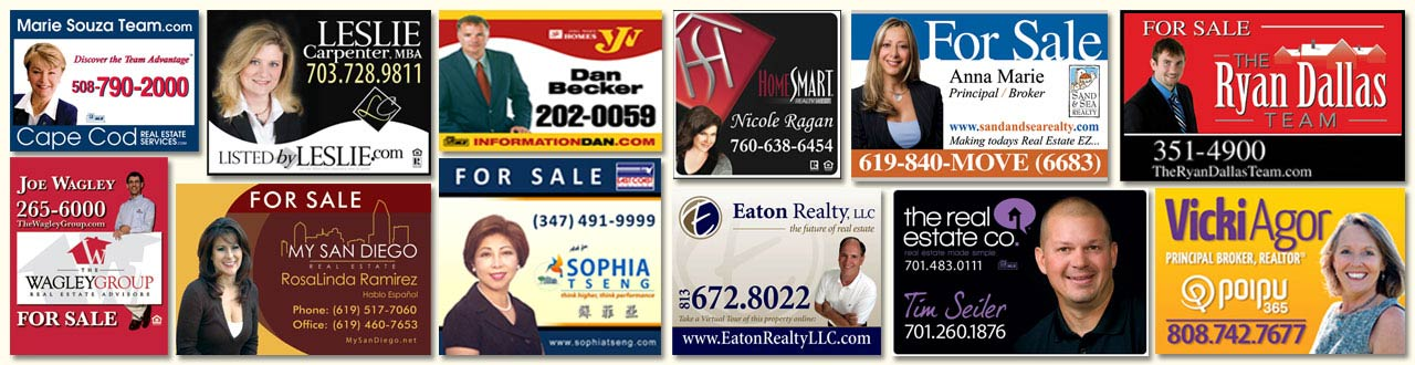 For Sale Signs from Dee Sign