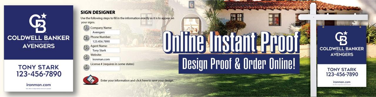 design proof and order online