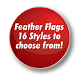 Real Living Feather Flag