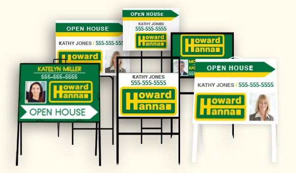 Howard Hanna Real Estate Sign products