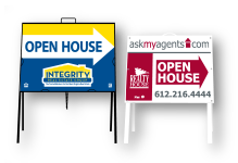 Open House & Directional Signs