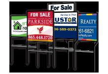 Real Estate Yard Signs