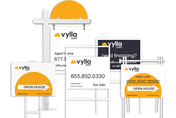 Vylla Real Estate Sign products