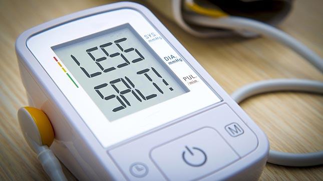 Studie: de zoutconsumptie verminderen leidt tot een lagere bloeddruk